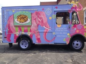 queen city cookie truck