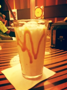 Vanilla Caramel Bourbon Shake