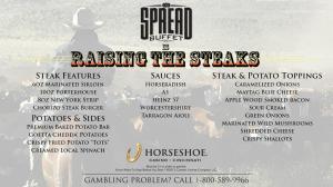 he Spread Buffet-Steak and potato night