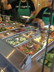 Inside Sweetgreen
