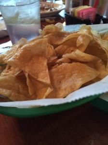 Tortilla chips-taqueria mercado