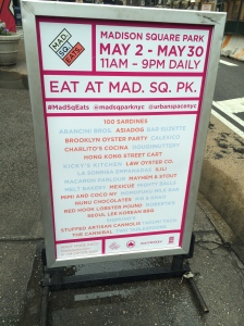 Madison Square Eats