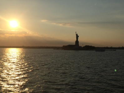 Sunset Lady Liberty