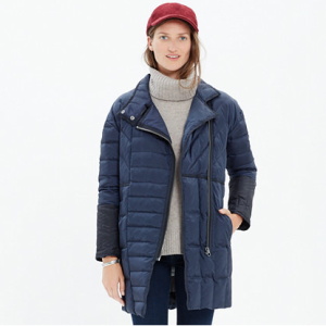 Madewell quilted down coat