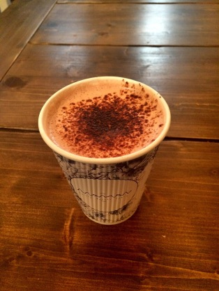 Lavender hot chocolate-Maman